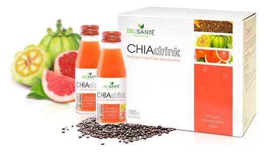Chia Drink Display