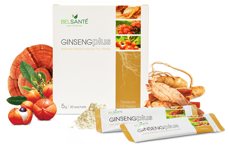 Ginsengplus Packaging