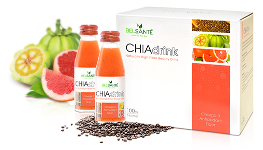 Chia Drink Display