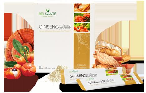 Ginsengplus Packaging
